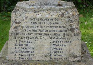 Rodmarton War Memorial